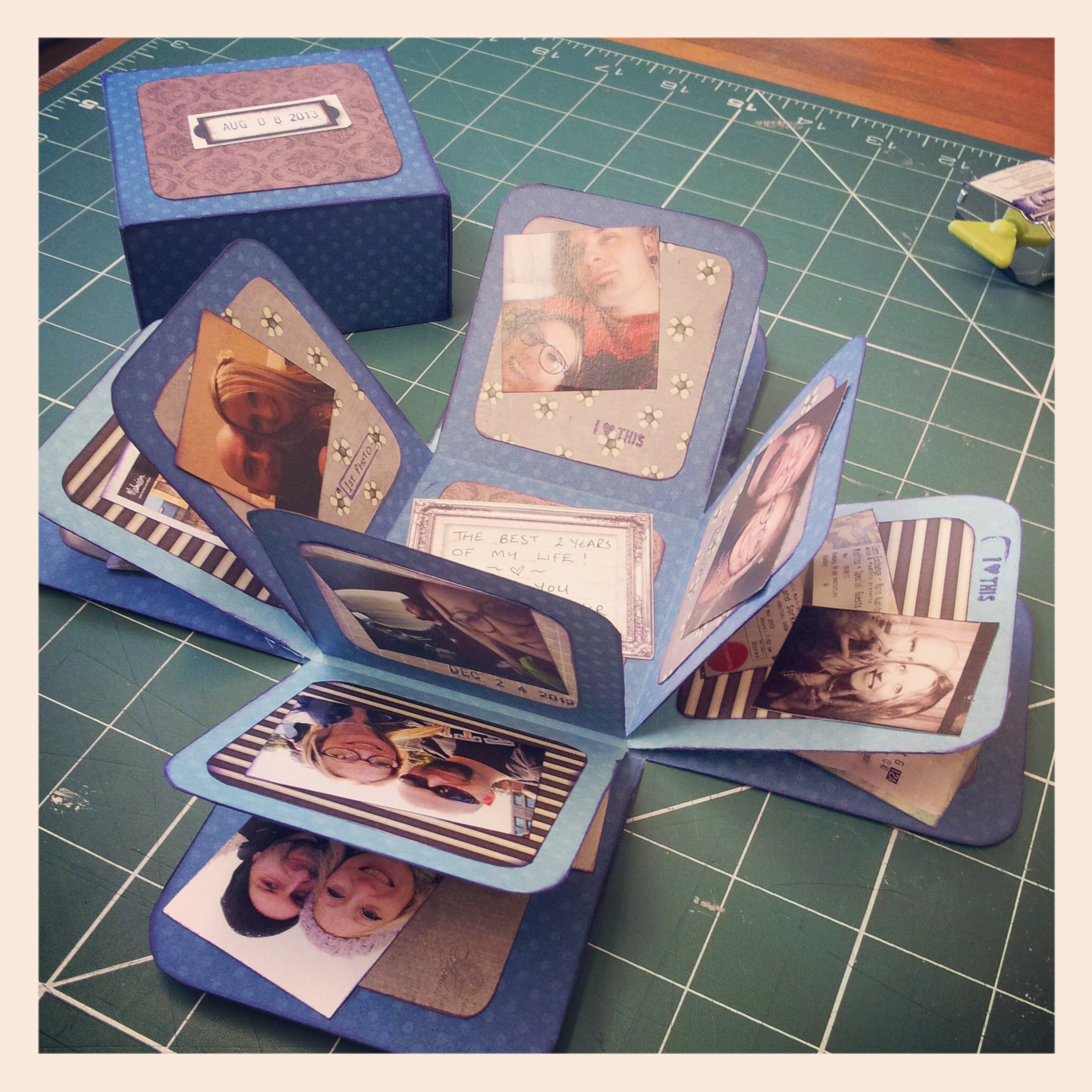 Food Book Cover Ideas ~ Non food friday exploding scrapbook box stacy grant