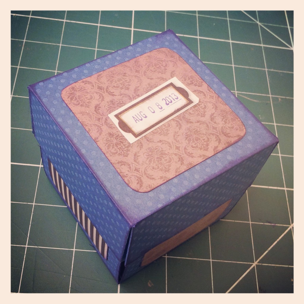 Scrapbook box