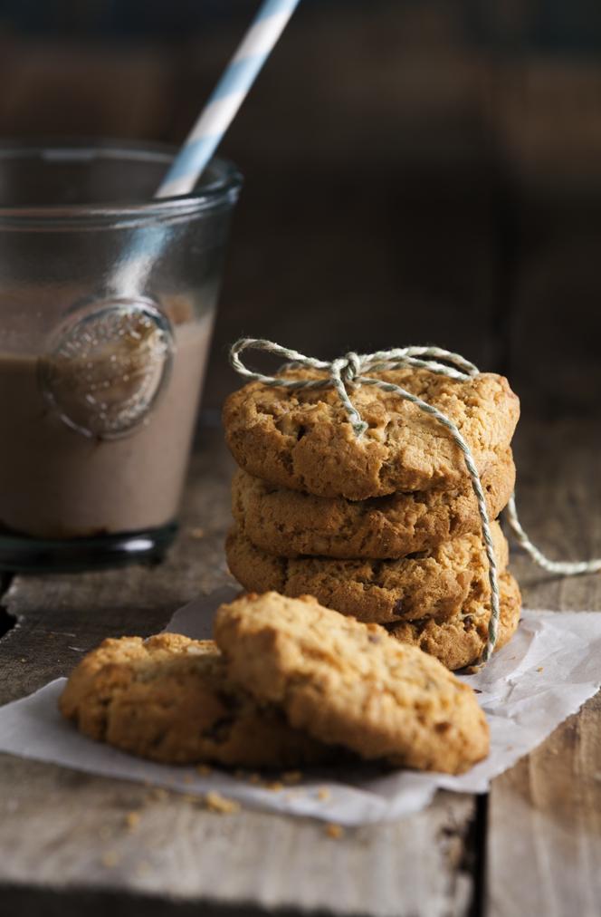 Triple nut cookies