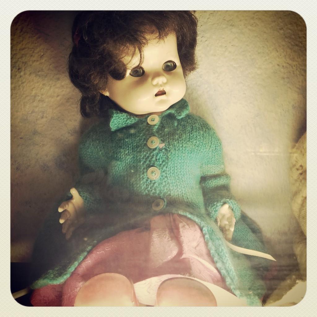 Creepy doll - MK Museum