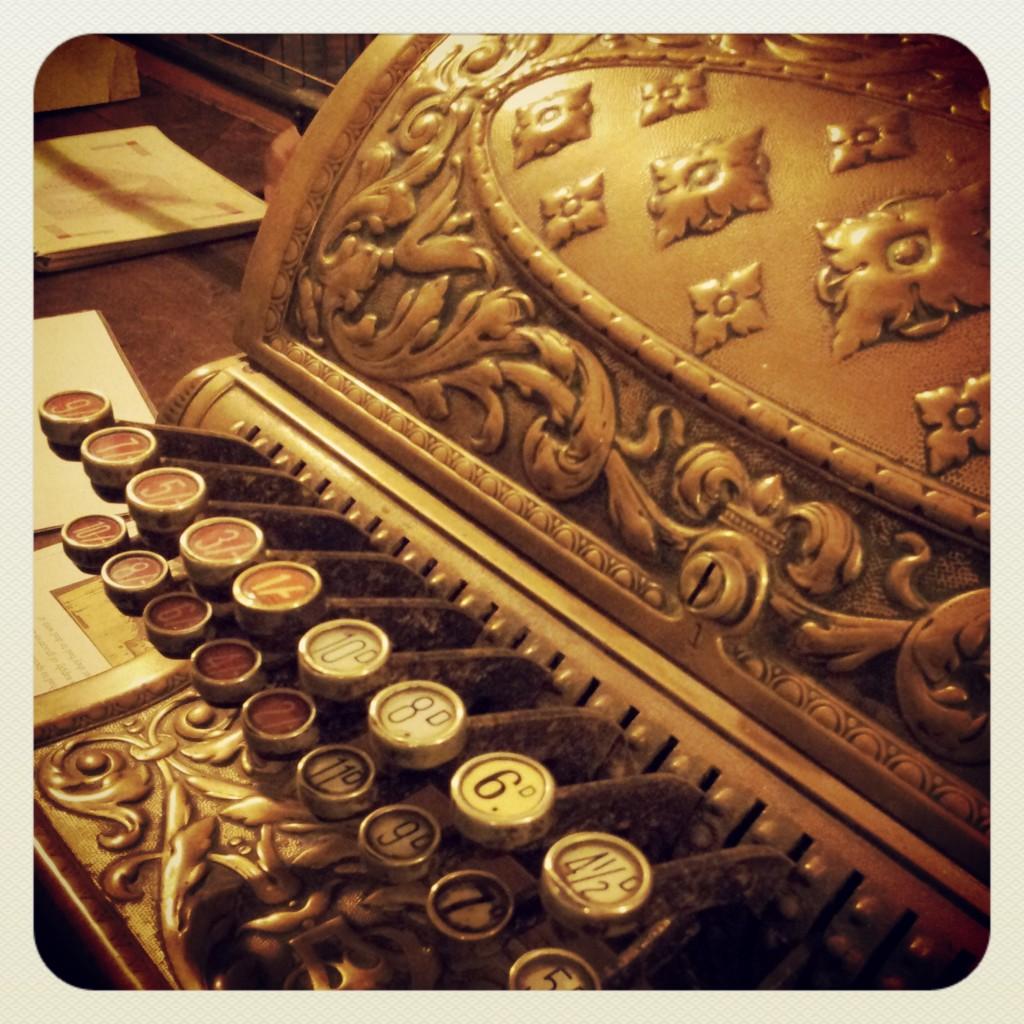 Old cash register - MK Museum
