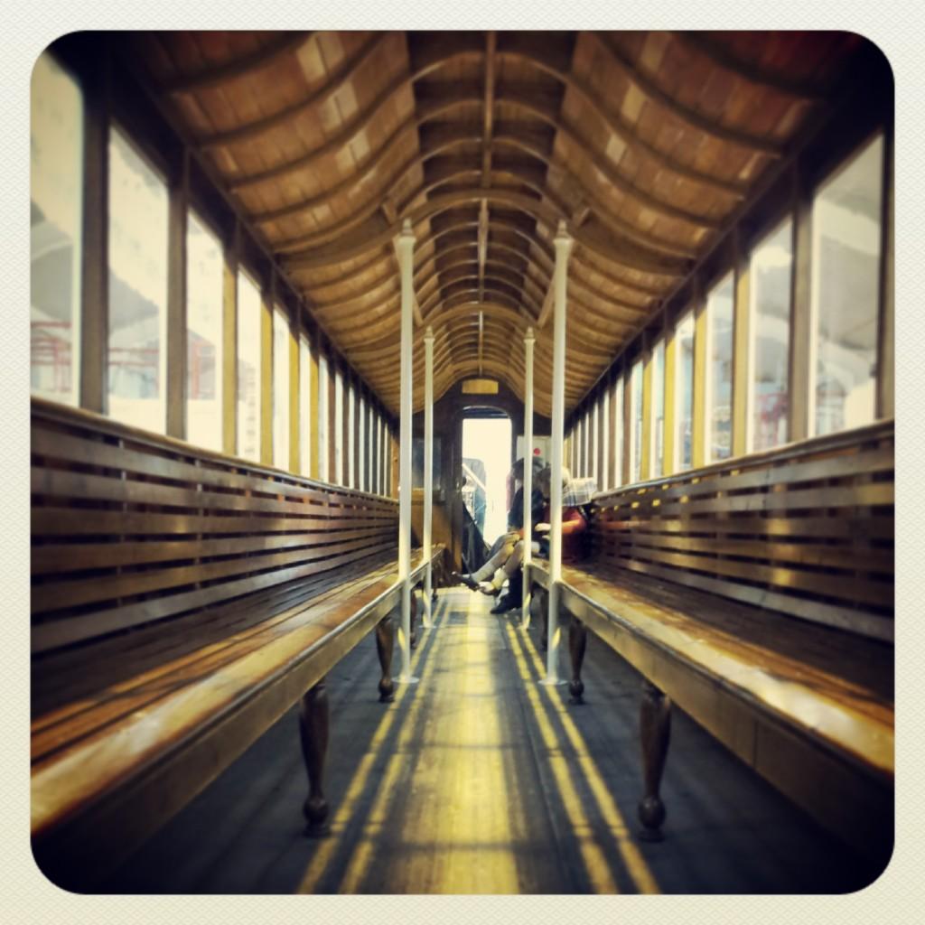 Victorian tram - MK Museum