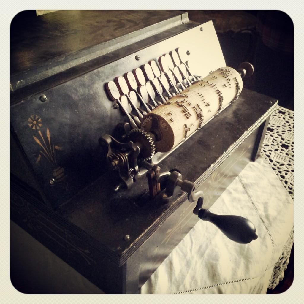 Victorian acordian - MK museum