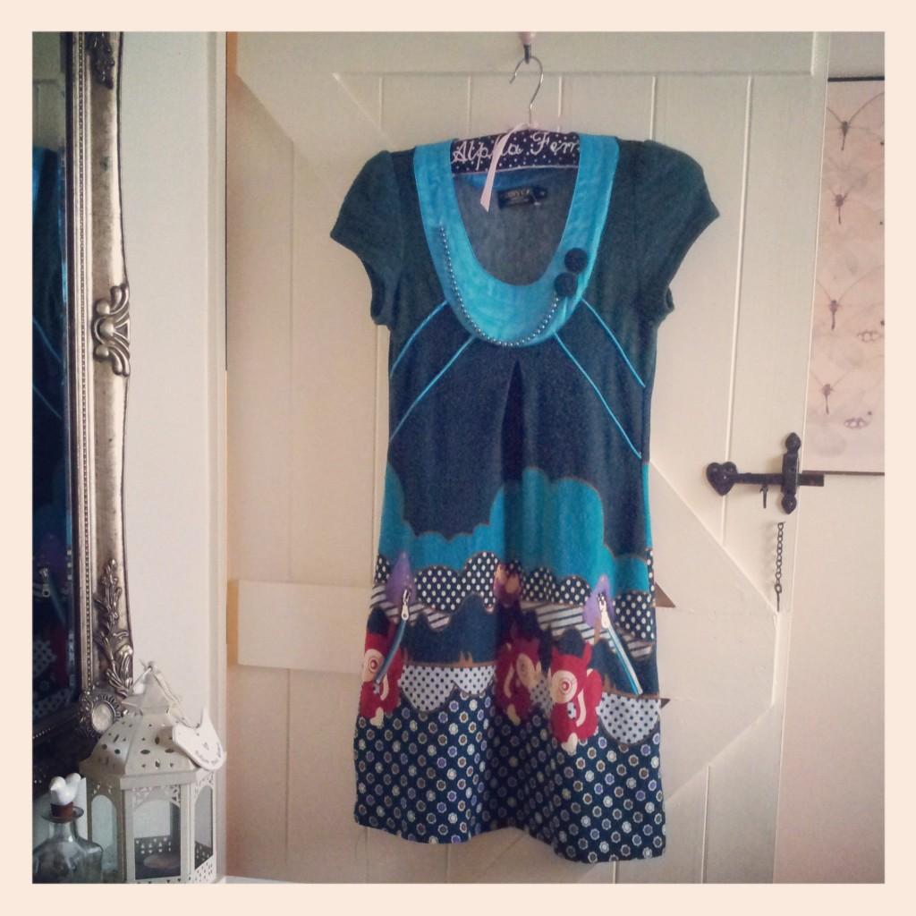 Teal Kitsch Dress