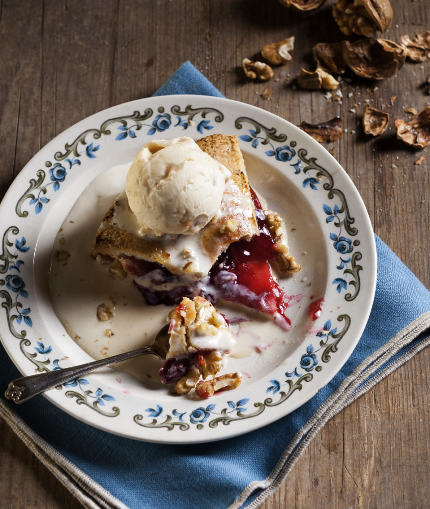 Ice Cream and Cheery Pie by Stacy Grant