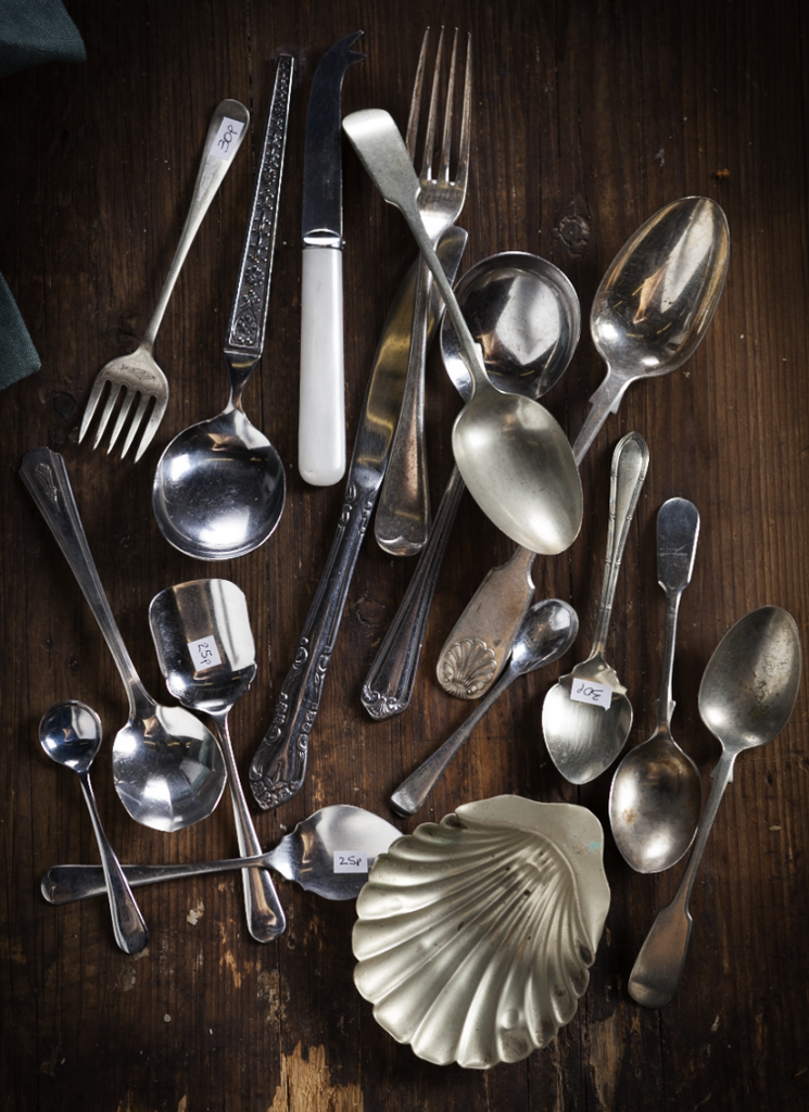 Vinatge cutlery ood photography props Stacy Grant