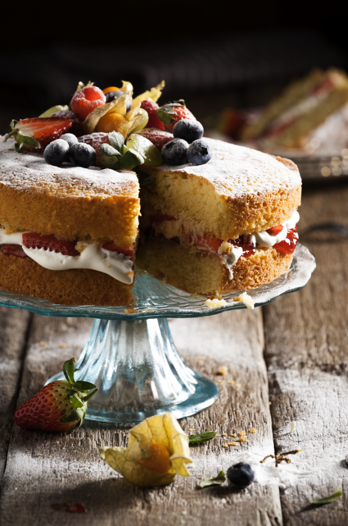 Victoria Sponge by Stacy Grant