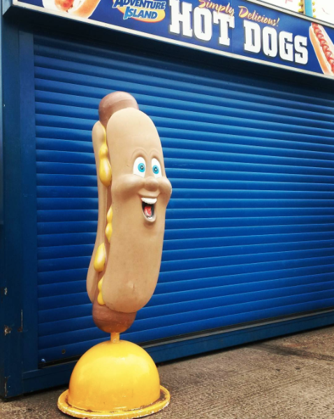 Hot dog Southend stacy grant