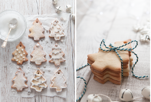 Christmas biscuits by Stacy Grant