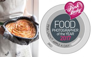 Stacy Grant Pink Lady Food Photographer Awards 2017