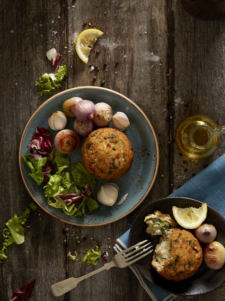 Co-op Haddock Salmon Fish Cake by Stacy Grant