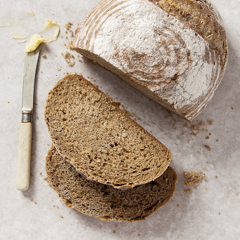 Fresh Sourdough cob by Stacy Grant