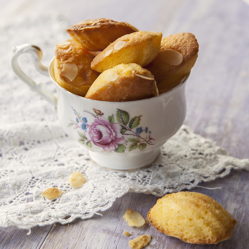 Madeleines | Stacy Grant | Food Photographer