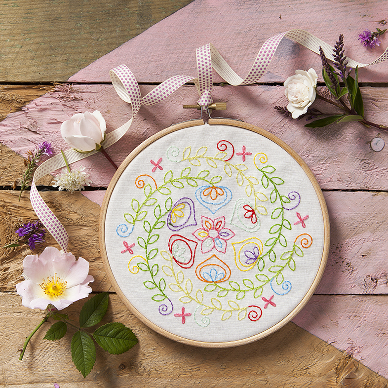 Mandalas to Embroider | craft photography | Stacy Grant