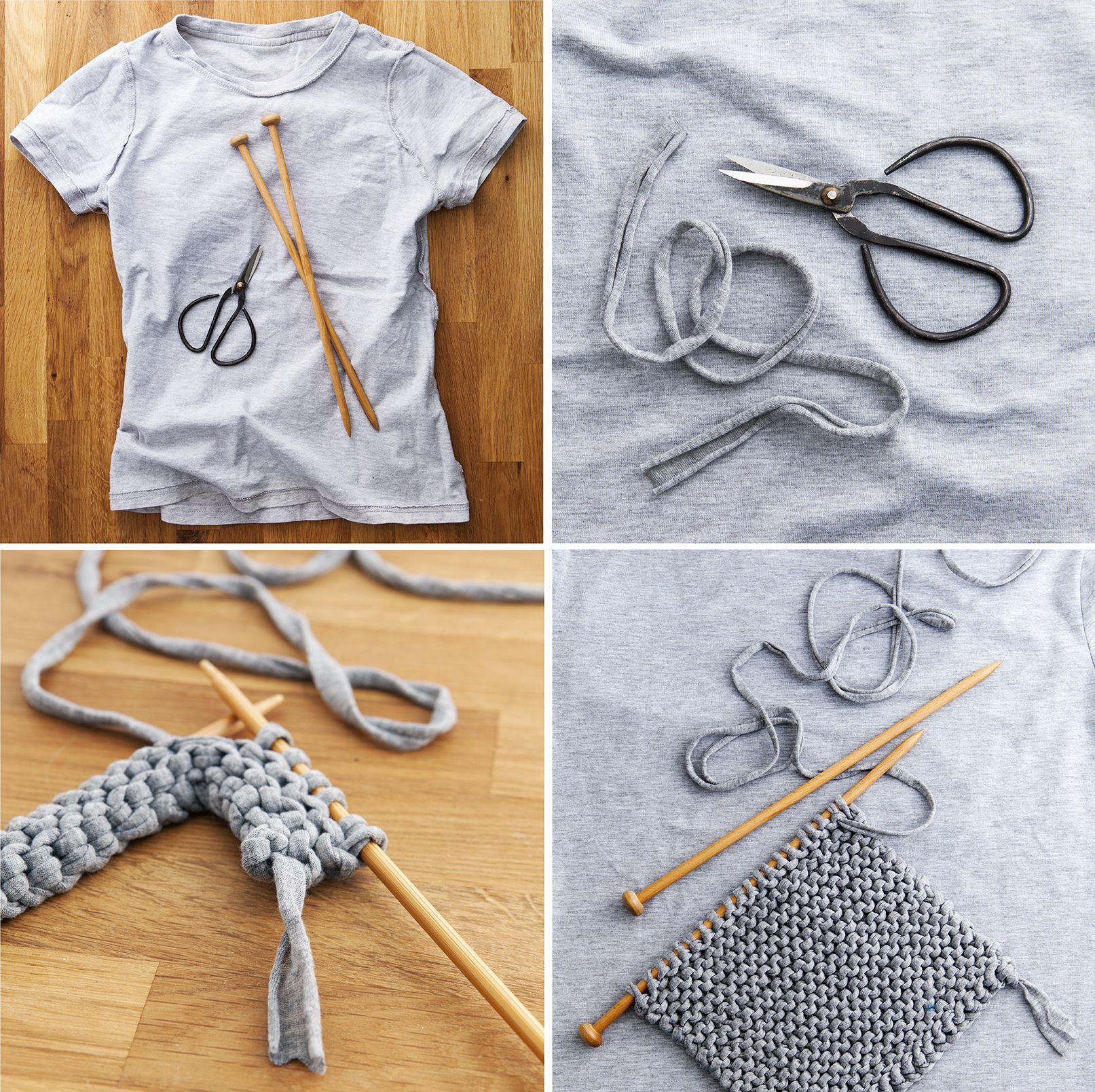 T-shirt Yarn Project | 52 Weekends | Stacy Grant