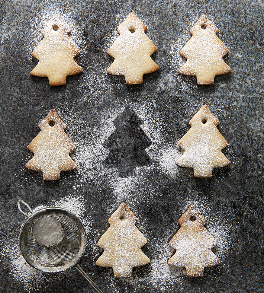 Tree shaped Biscuits | Stacy Grant | Food Photography