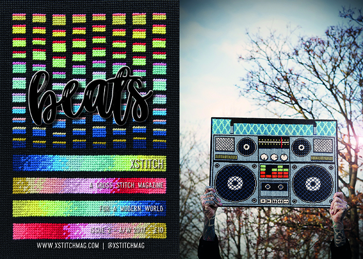XStitch Mag Issue 2 Beats | Mr X Stitch | Stacy Grant Photography