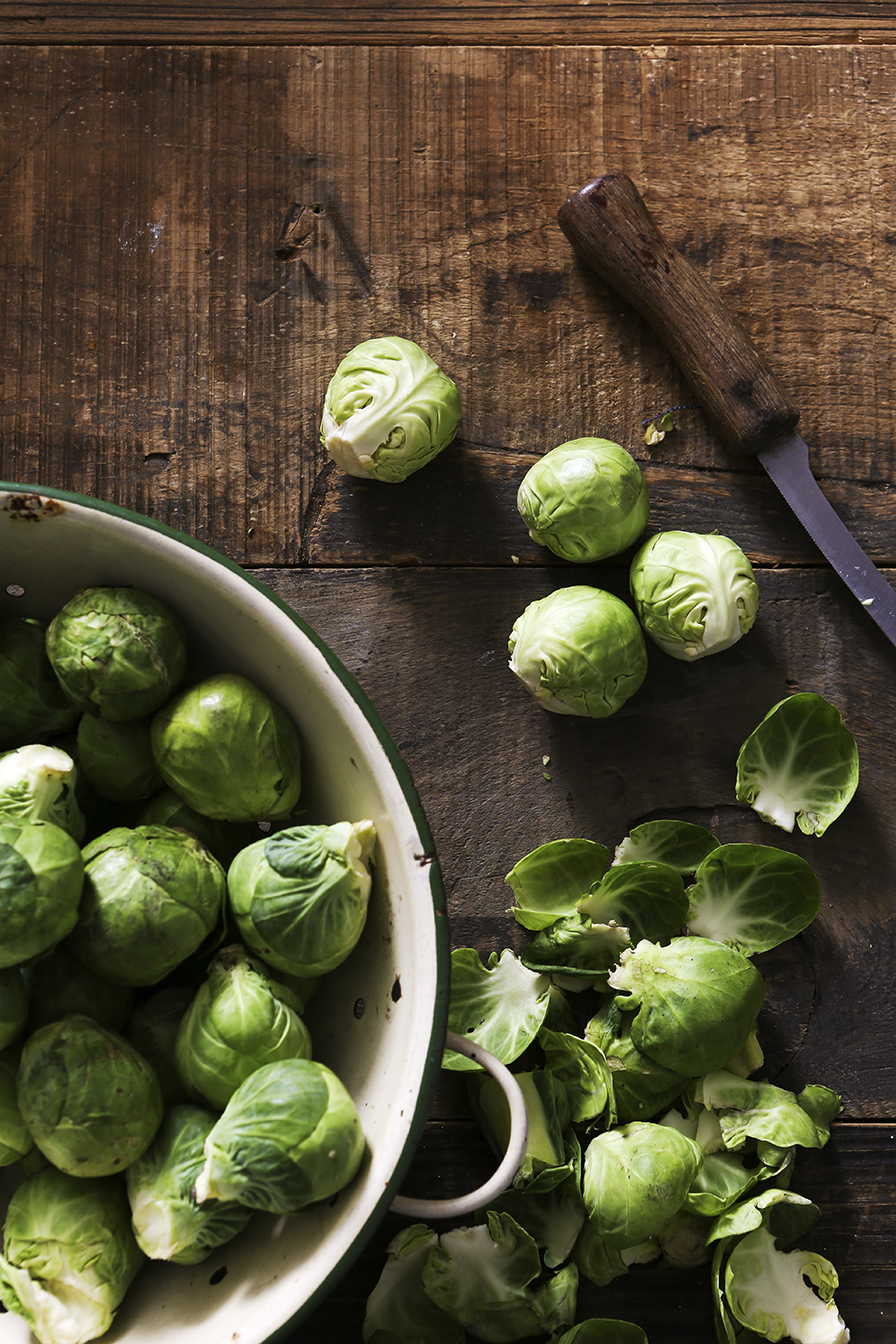 Christmas Sprouts | Stacy Grant | Creative Food Photography