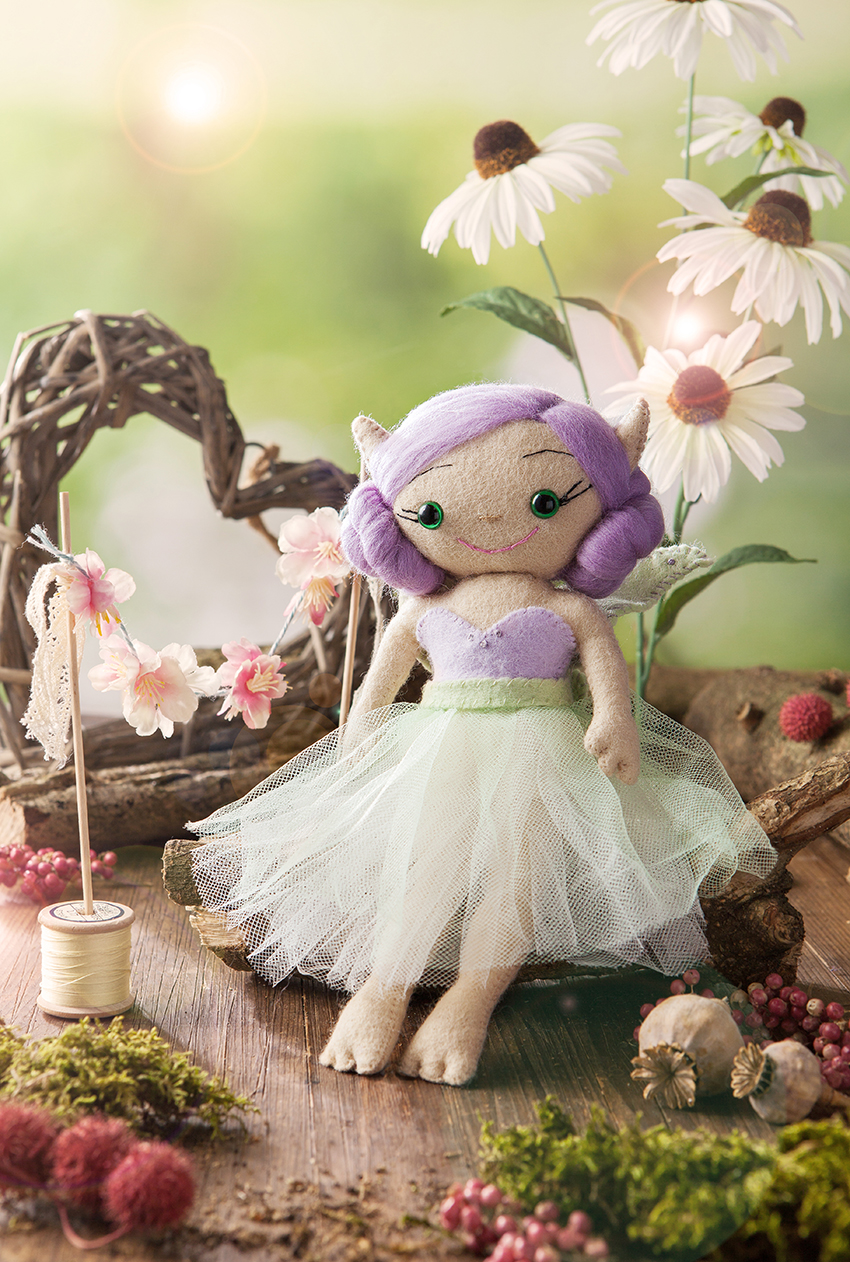 Lilith Fairy Doll | Lisa Olsen| TigerlilyMakes | Stacy Grant | Creative photographer