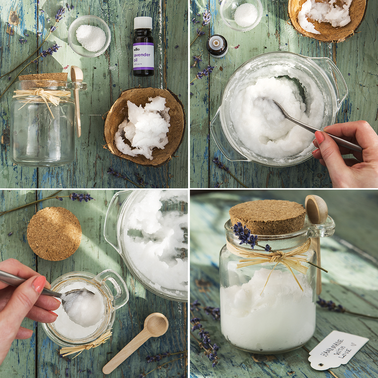 Coconut Sugar Hand Scrub | 52 Weekends | Stacy Grant | Creative Photographer