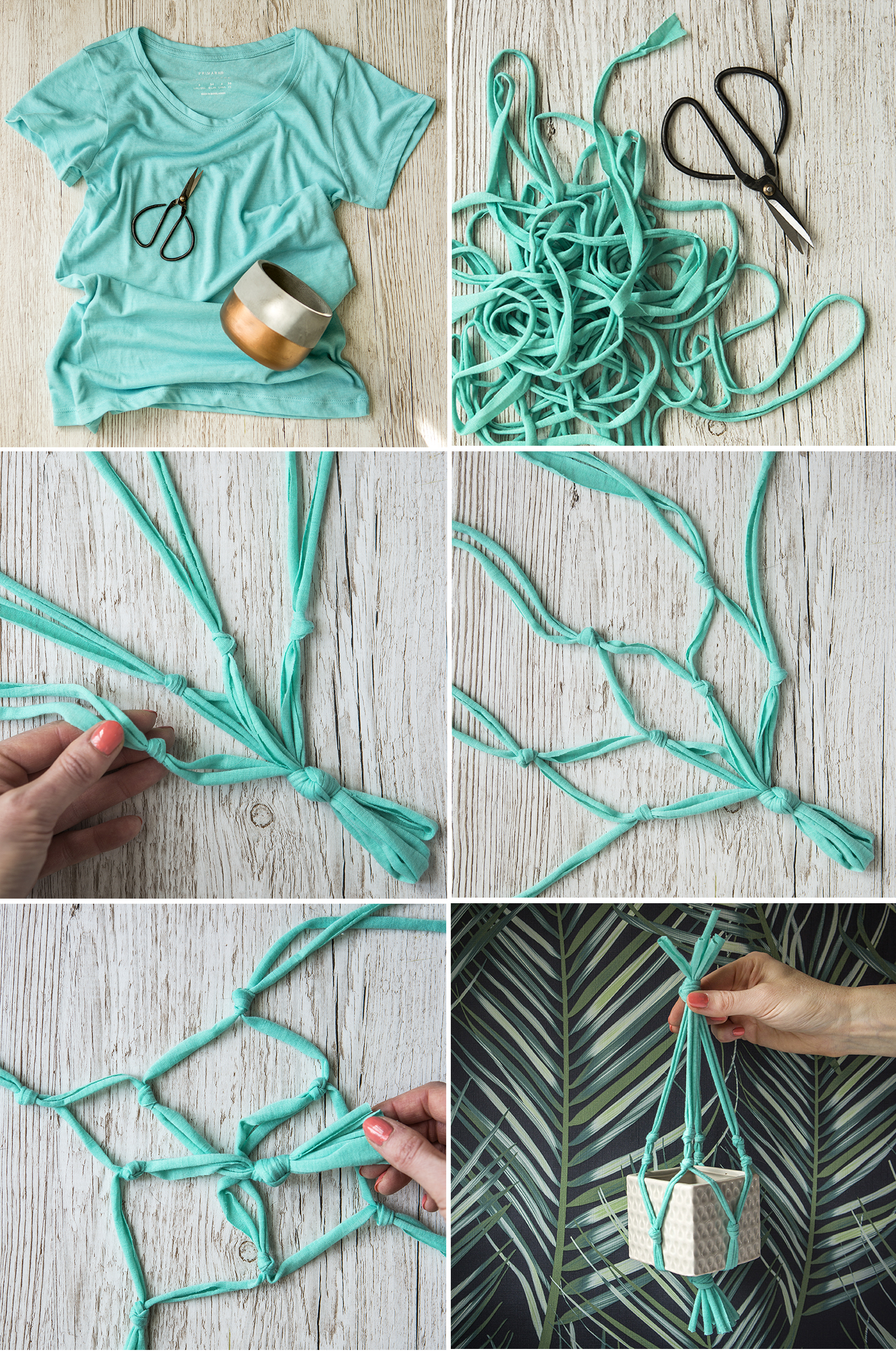 T-Shirt Yarn Macrame | Stacy Grant | Craft Photography