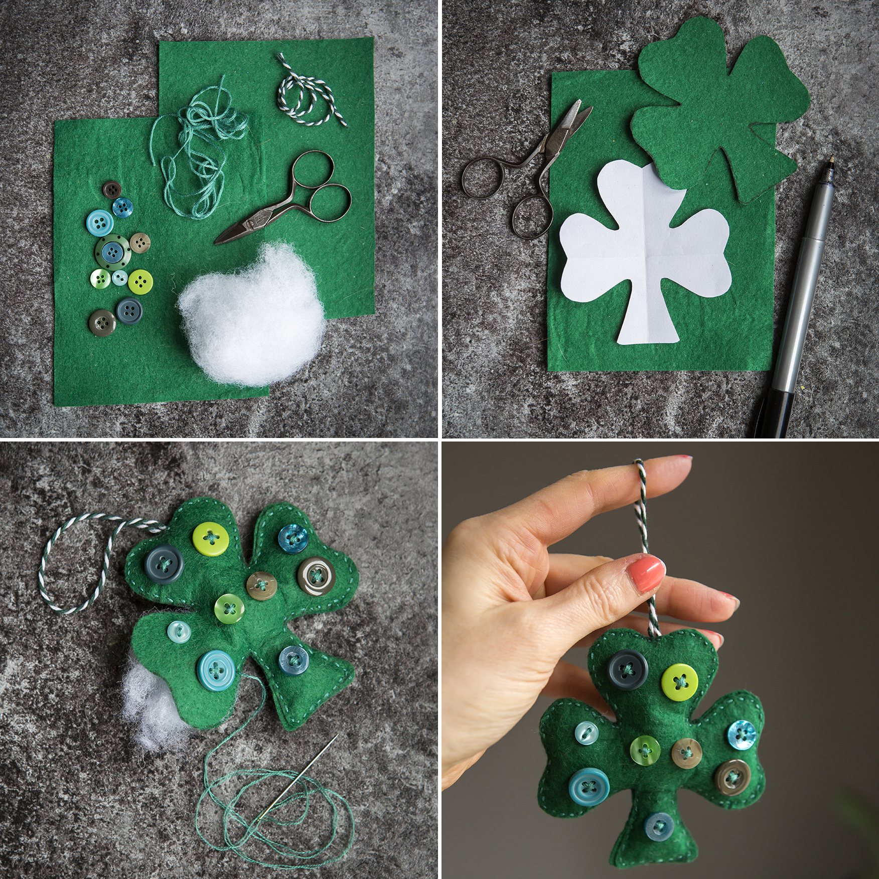 St. Patrick's Day Handmade Shamrock | 52 Weekends | Stacy Grant | Creative Photography