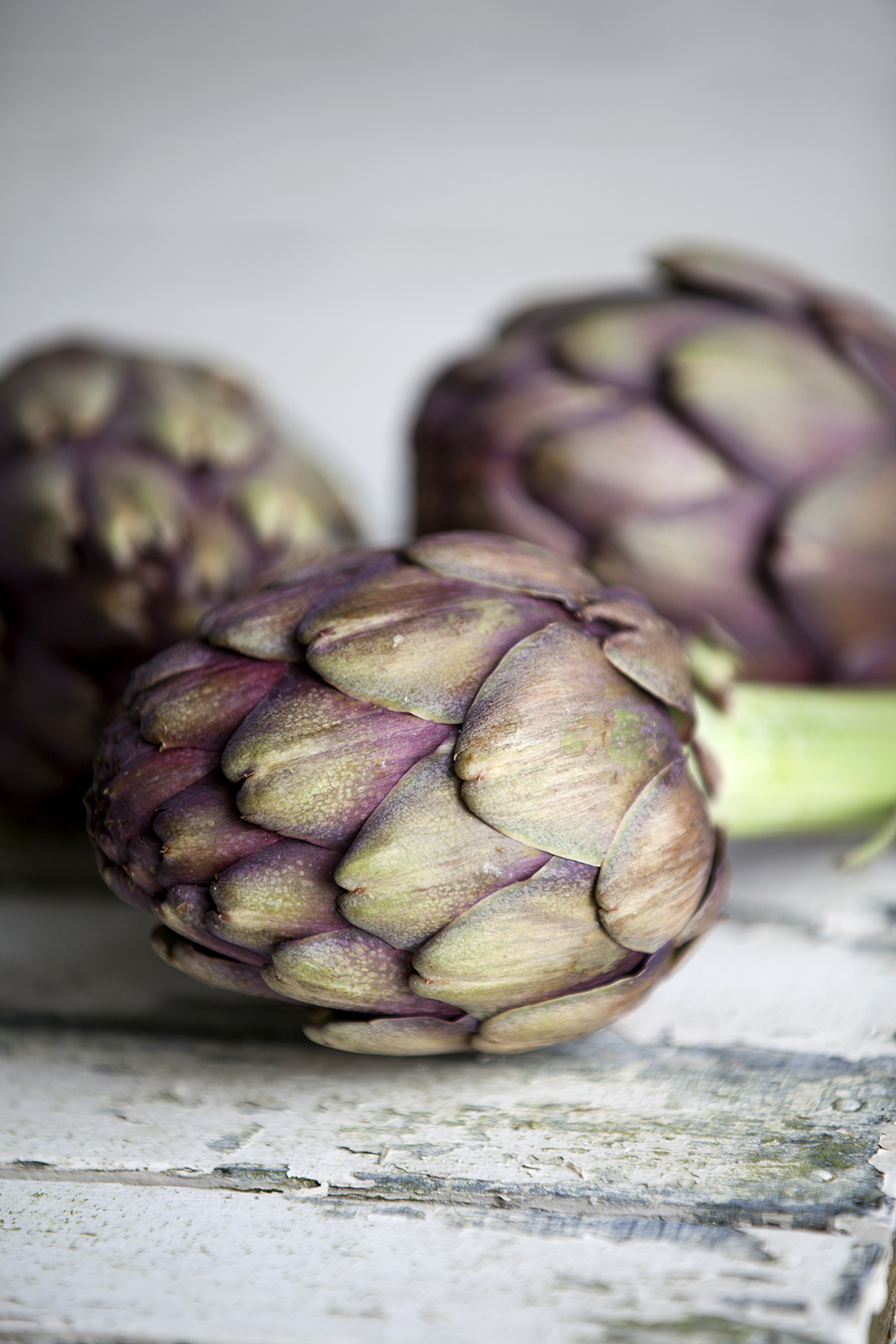 Artichokes | Stacy Grant Food Photographer