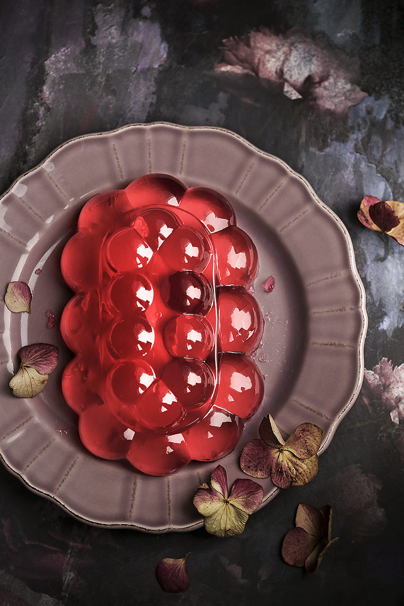 Jelly plate | Stacy Grant | Pink Lady Food Photography Awards 2018 Shortlist
