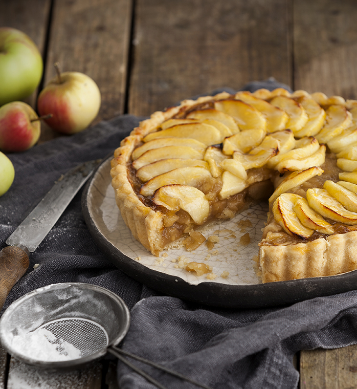 Apple Tart Recipe Stacy Grant Food Photography
